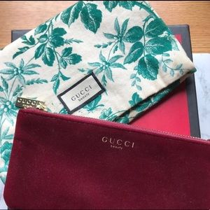 🆕 | Two GUCCI Cosmetic Bags With Gift Box